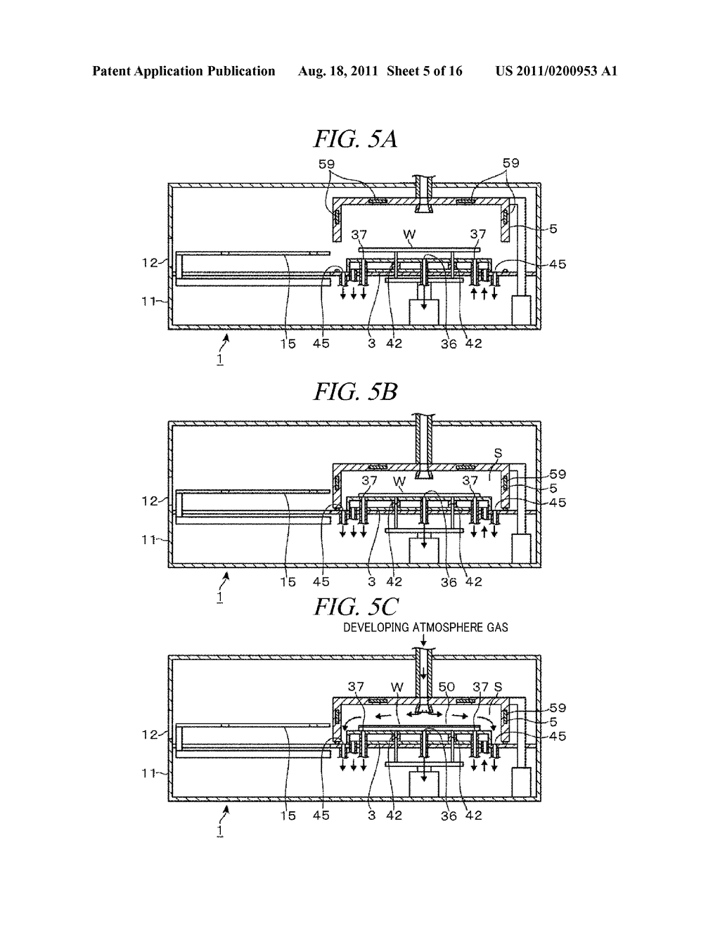 DEVELOPING APPARATUS, DEVELOPING METHOD AND STORAGE MEDIUM - diagram, schematic, and image 06