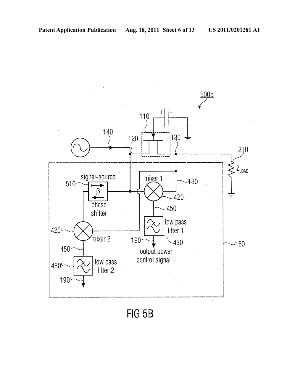 High Frequency Switching Circuit And Method For Determining A Power Simple Diagram Of Signal Schematic Image 07
