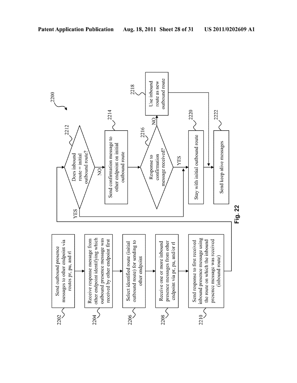 SYSTEM AND METHOD FOR STRATEGIC ROUTING IN A PEER-TO-PEER ENVIRONMENT - diagram, schematic, and image 29