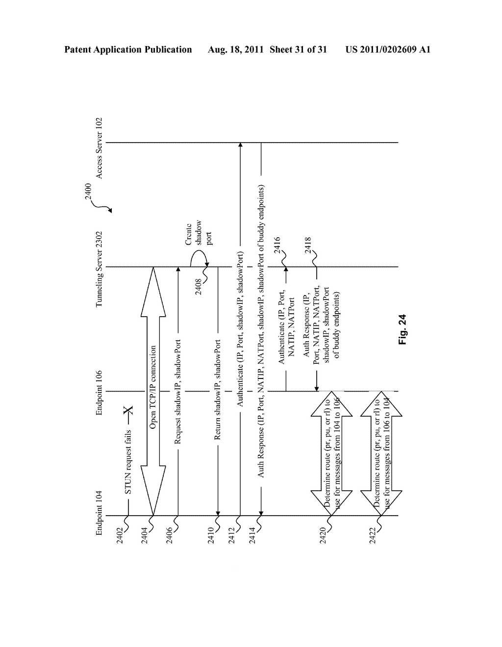 SYSTEM AND METHOD FOR STRATEGIC ROUTING IN A PEER-TO-PEER ENVIRONMENT - diagram, schematic, and image 32
