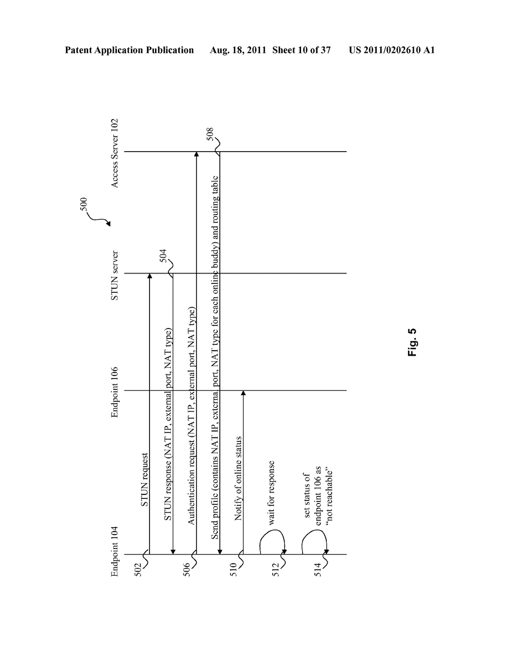 SYSTEM AND METHOD FOR SIGNALING AND DATA TUNNELING IN A PEER-TO-PEER     ENVIRONMENT - diagram, schematic, and image 11