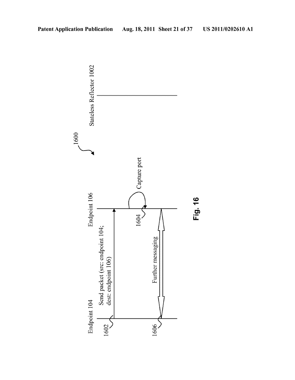 SYSTEM AND METHOD FOR SIGNALING AND DATA TUNNELING IN A PEER-TO-PEER     ENVIRONMENT - diagram, schematic, and image 22