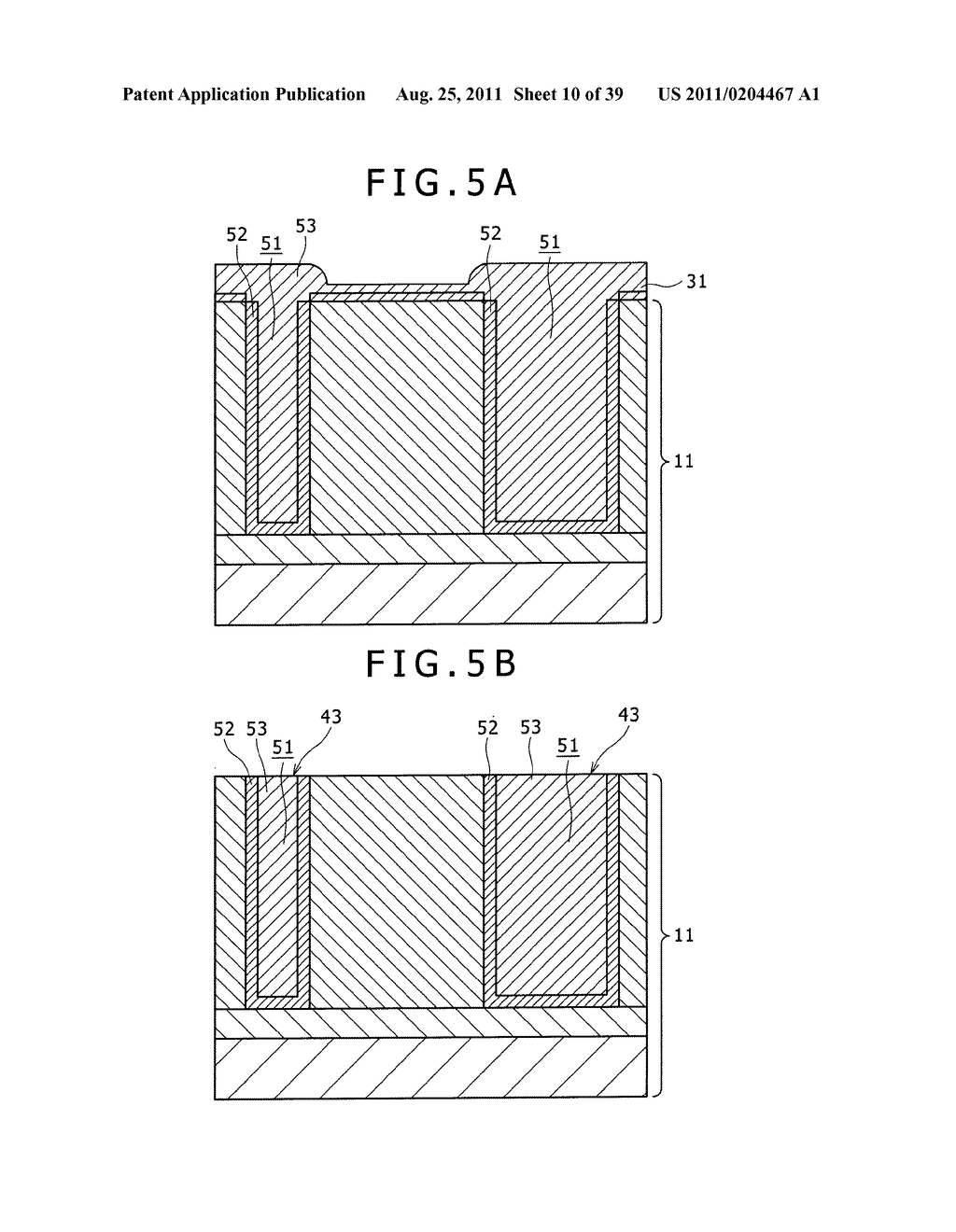 SOLID-STATE IMAGE PICKUP DEVICEAND FABRICATION PROCESS THEREOF - diagram, schematic, and image 11