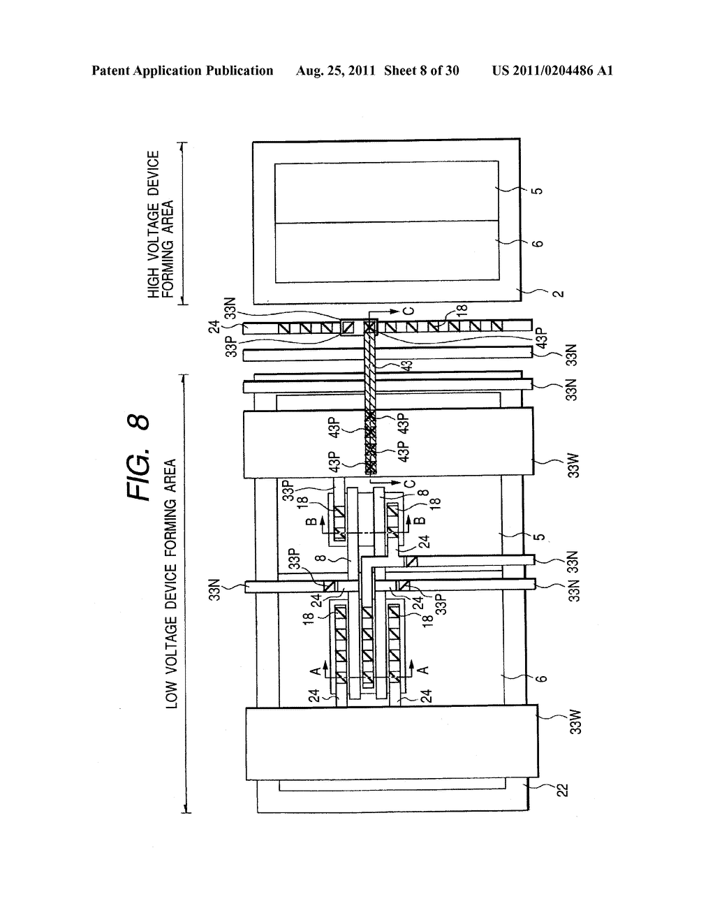 METHOD OF MANUFACTURING A SEMICONDUCTOR INTEGRATED CIRCUIT DEVICE - diagram, schematic, and image 09