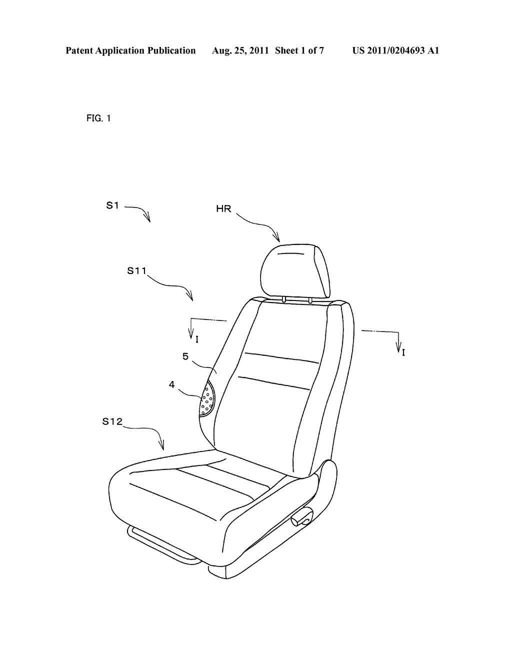 Vehicle Seat - diagram, schematic, and image 02