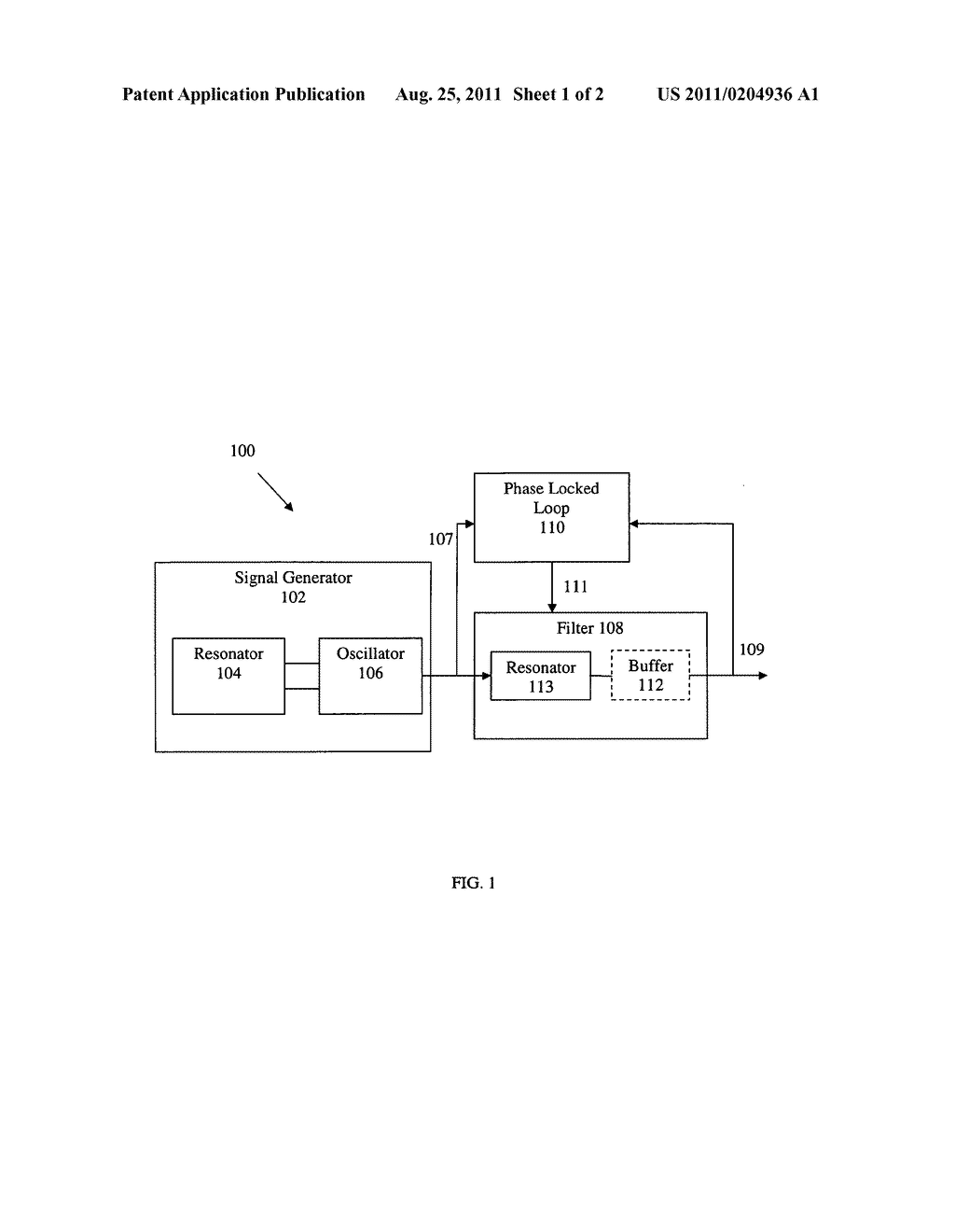 APPARATUS AND METHODS FOR REDUCING NOISE IN OSCILLATING SIGNALS - diagram, schematic, and image 02