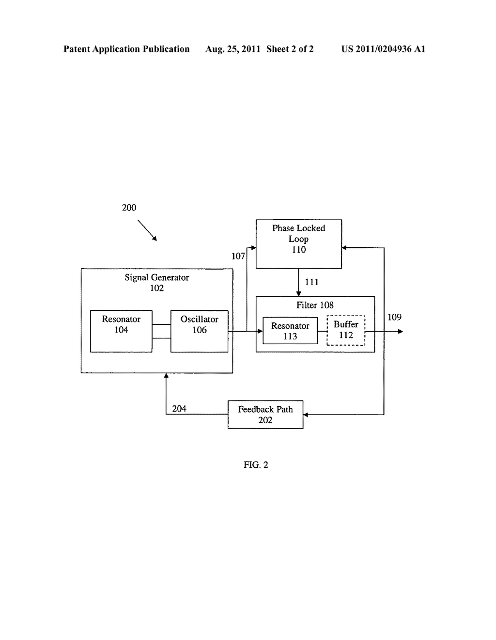 APPARATUS AND METHODS FOR REDUCING NOISE IN OSCILLATING SIGNALS - diagram, schematic, and image 03
