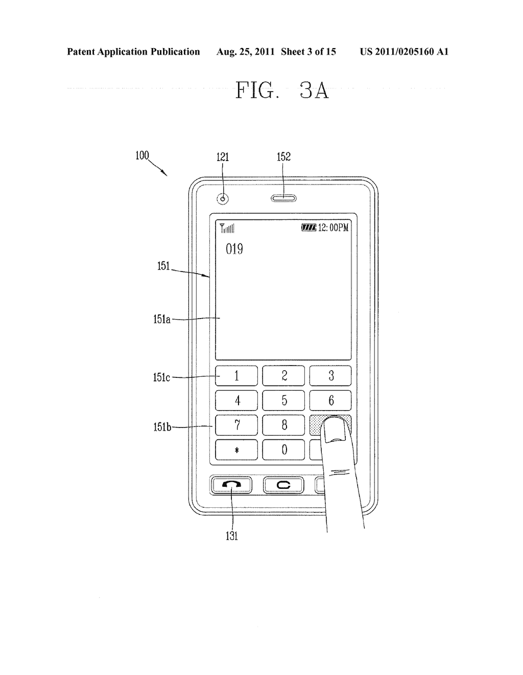 METHOD FOR INPUTTING A STRING OF CHARACTERS AND APPARATUS THEREOF - diagram, schematic, and image 04