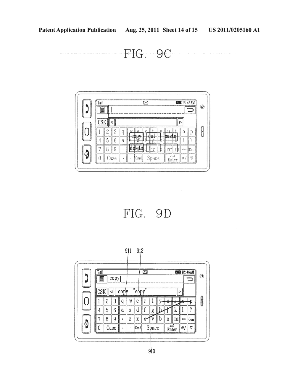 METHOD FOR INPUTTING A STRING OF CHARACTERS AND APPARATUS THEREOF - diagram, schematic, and image 15