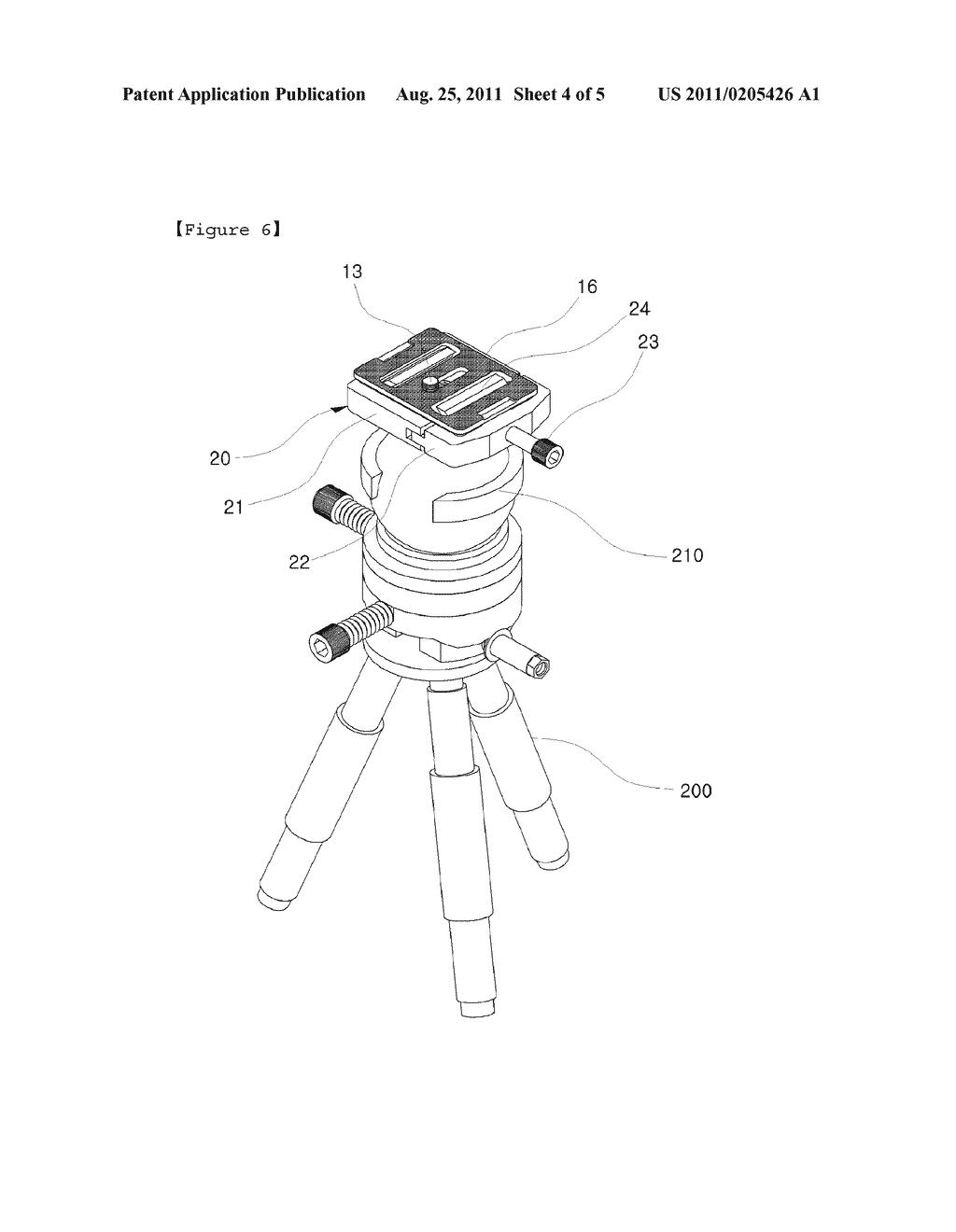 quick shoe for camera tripod diagram, schematic, and image 05Tripod Diagram #9