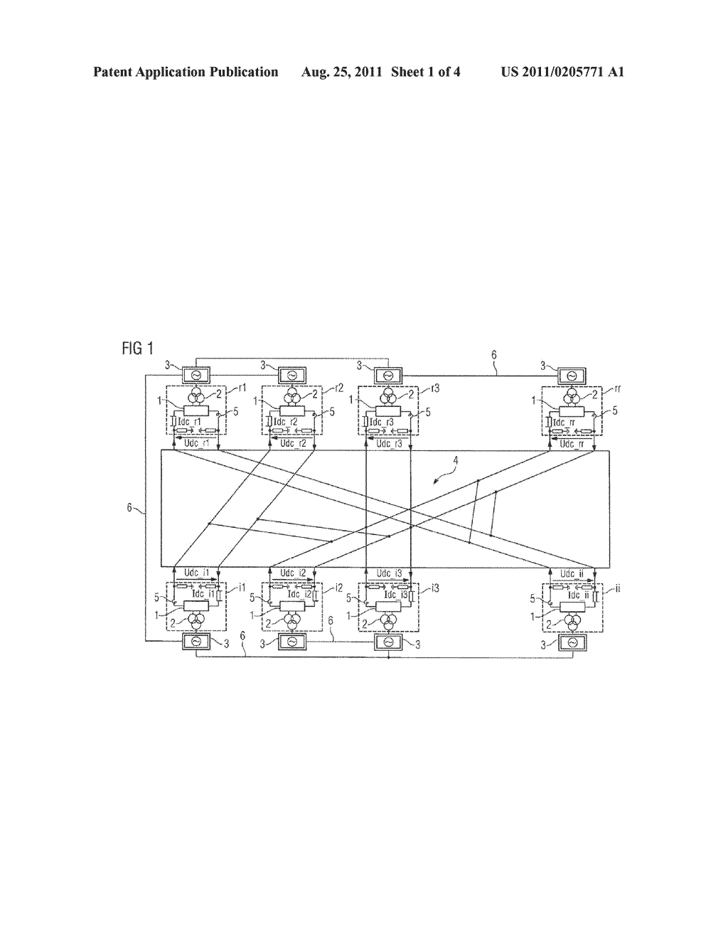 CLOSED-LOOP CONTROL METHOD FOR AN HVDC TRANSFER INSTALLATION HAVING A DC     VOLTAGE INTERMEDIATE CIRCUIT AND SELF-COMMUTATED CONVERTERS - diagram, schematic, and image 02