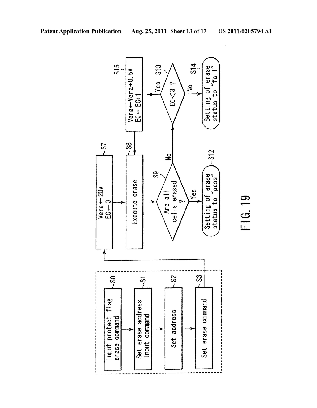 Nonvolatile Semiconductor Memory Device Having Protection Function Of Block Diagram For Each Schematic And Image 14