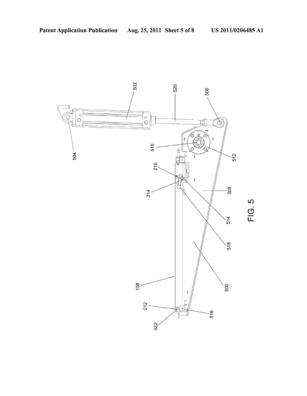CONVEYOR ASSEMBLY AND METHOD FOR CONVEYING A SUBSTRATE CARRIER - diagram, schematic, and image 06