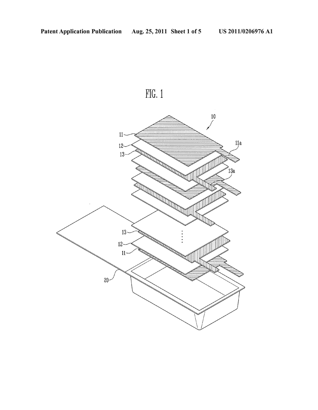 ELECTRODE ASSEMBLY AND SECONDARY BATTERY USING THE SAME - diagram, schematic, and image 02