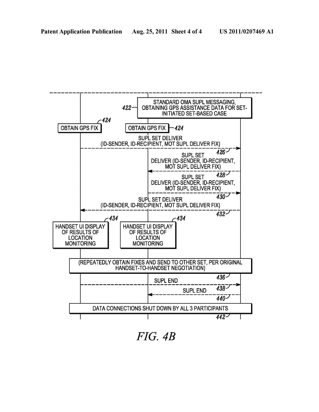 METHODS AND APPARATUS FOR EXTENDED GENERIC MESSAGING IN A NETWORKED     GEOLOCATION SYSTEM - diagram, schematic, and image 05