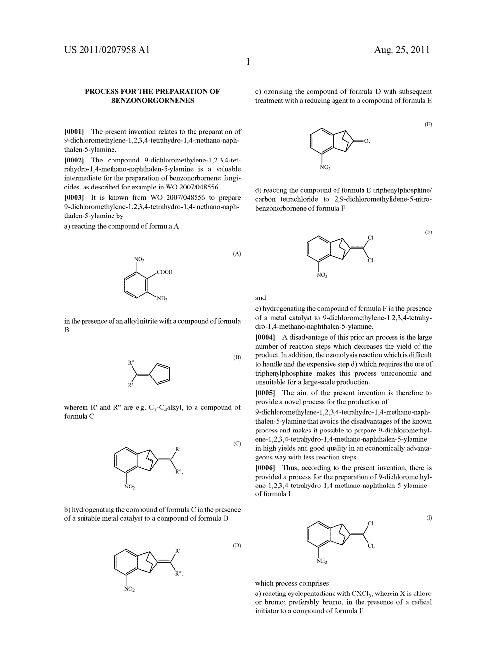 PROCESS FOR THE PREPARATION OF BENZONORGORNENES - diagram, schematic, and image 02