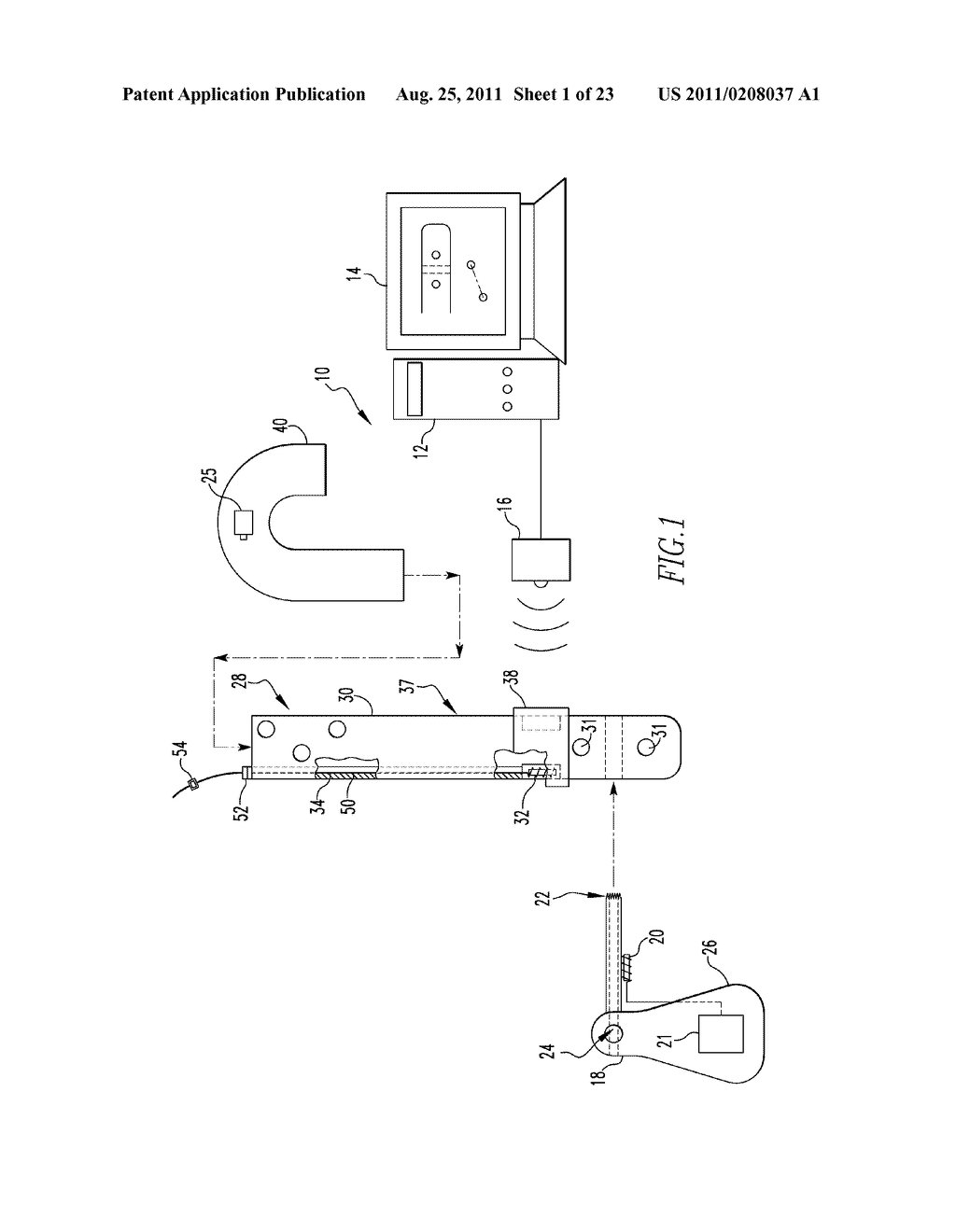 SYSTEM AND METHOD FOR IDENTIFYING A LANDMARK - diagram, schematic, and image 02