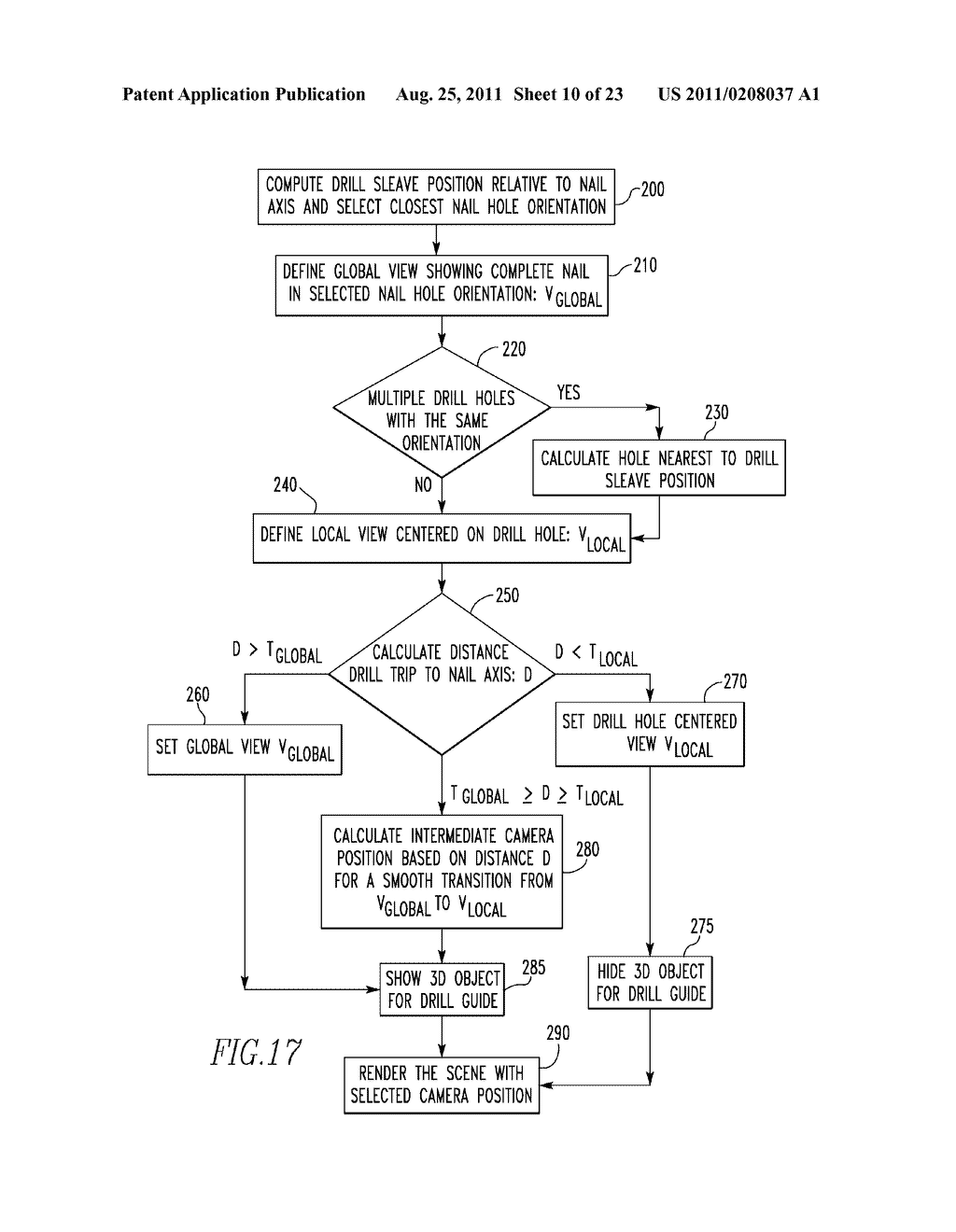 SYSTEM AND METHOD FOR IDENTIFYING A LANDMARK - diagram, schematic, and image 11