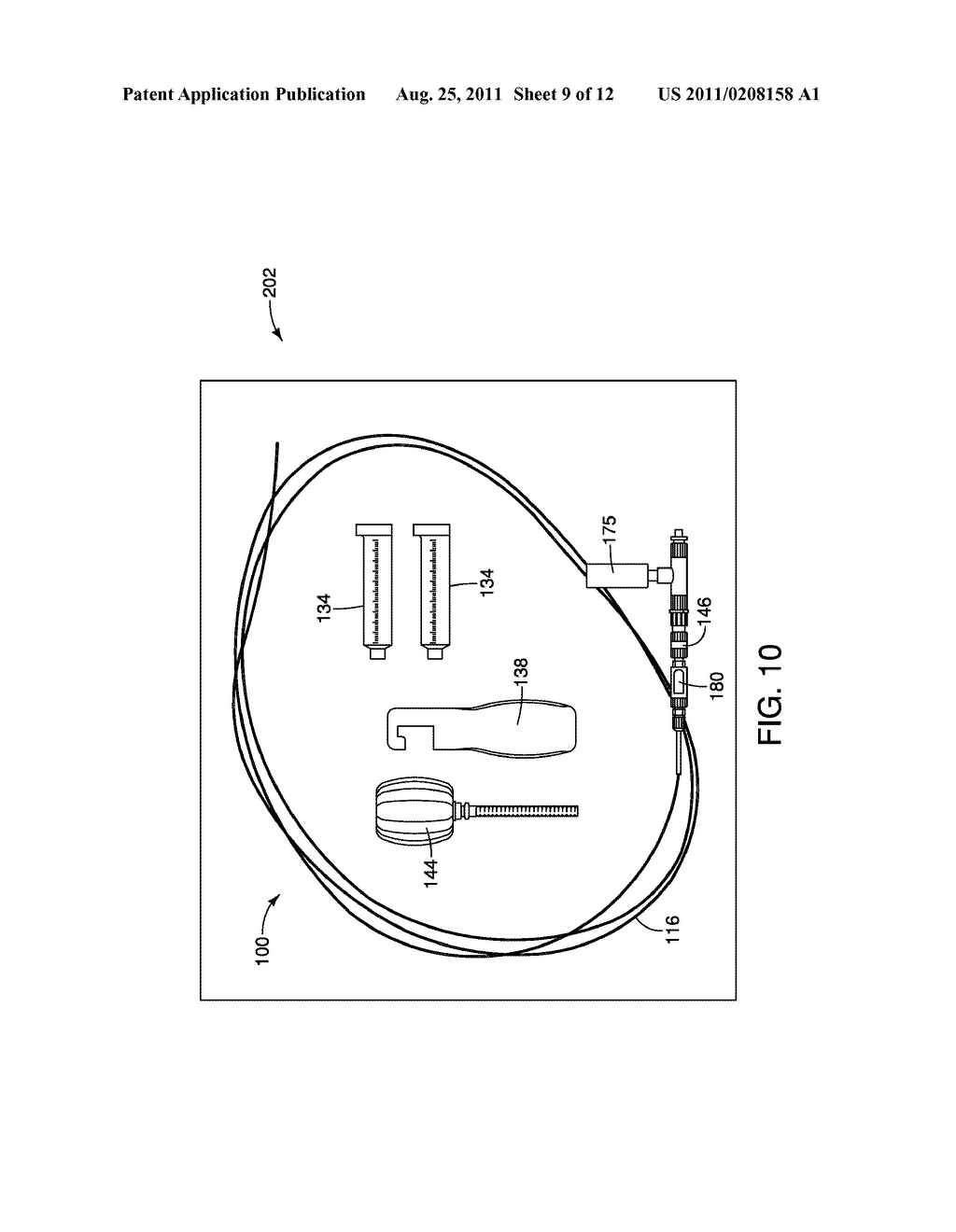 Apparatus and Method for Endoscopic Submucosal Dissection - diagram, schematic, and image 10