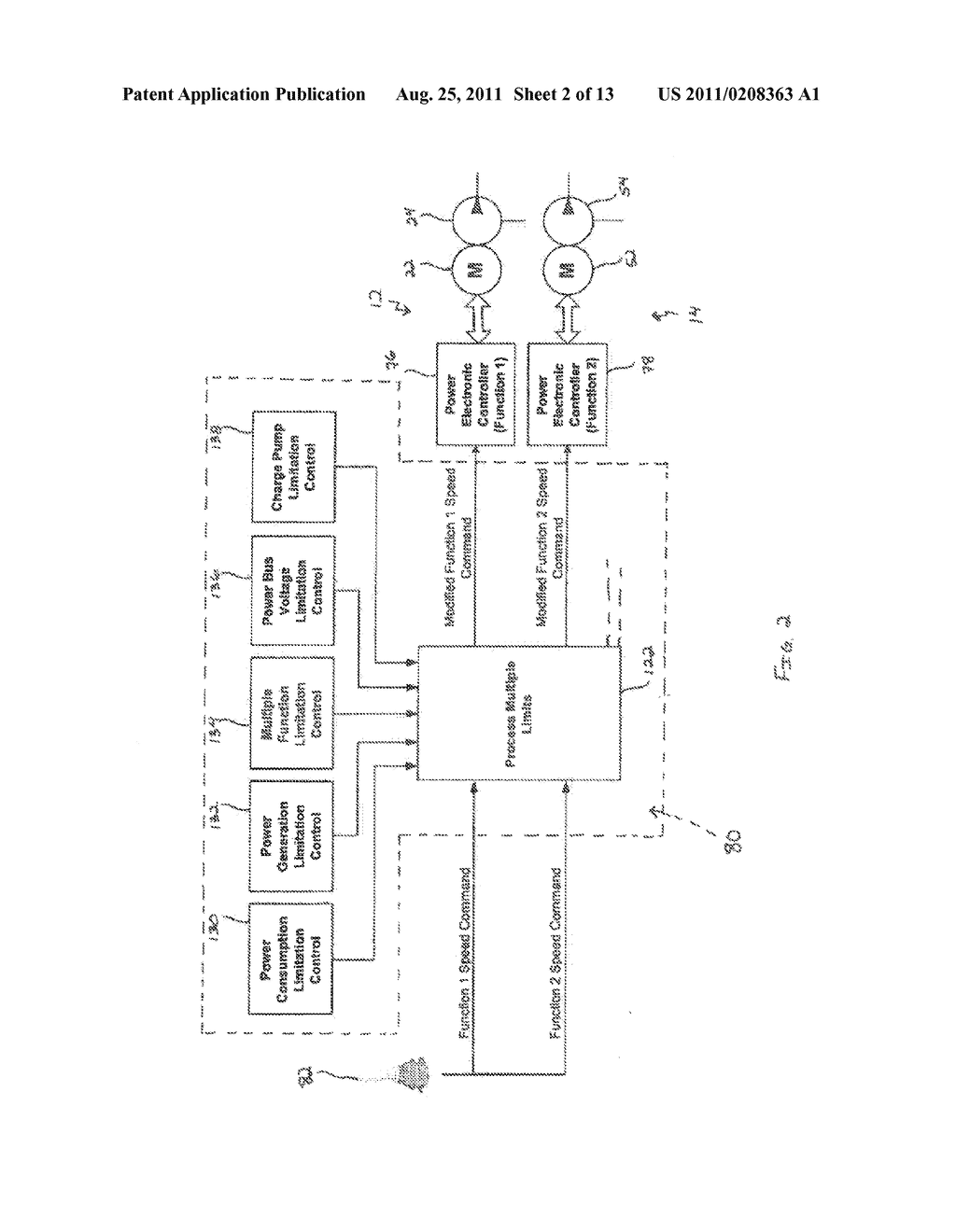 METHOD OF CONTROLLING AN ELECTRO-HYDRAULIC ACTUATOR SYSTEM HAVING MULTIPLE     ACTUATORS - diagram, schematic, and image 03
