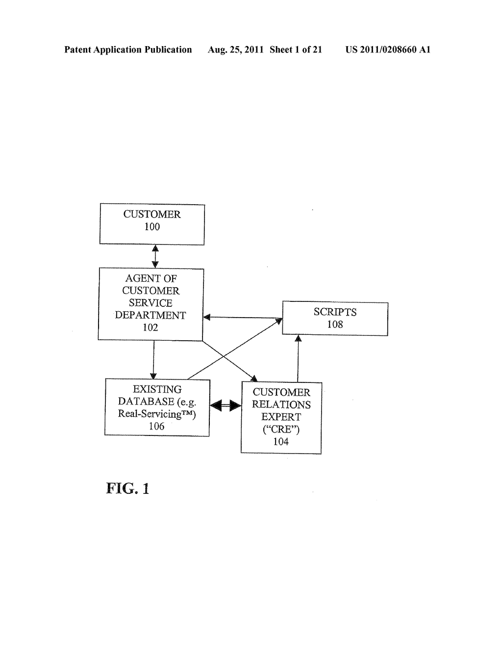 METHODS AND SYSTEMS FOR PROVIDING CUSTOMER RELATIONS INFORMATION - diagram, schematic, and image 02