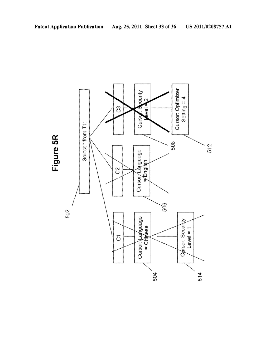 METHOD AND SYSTEM FOR IMPLEMENTING EFFICIENT CURSOR PRUNING - diagram, schematic, and image 34