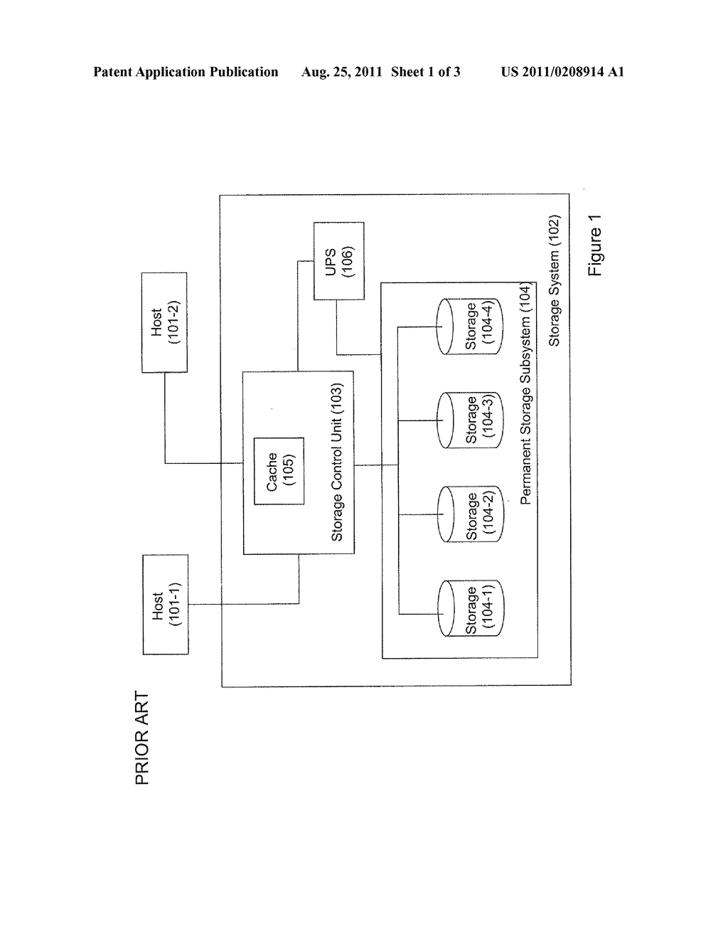 STORAGE SYSTEM AND METHOD OF OPERATING THEREOF - diagram, schematic, and image 02