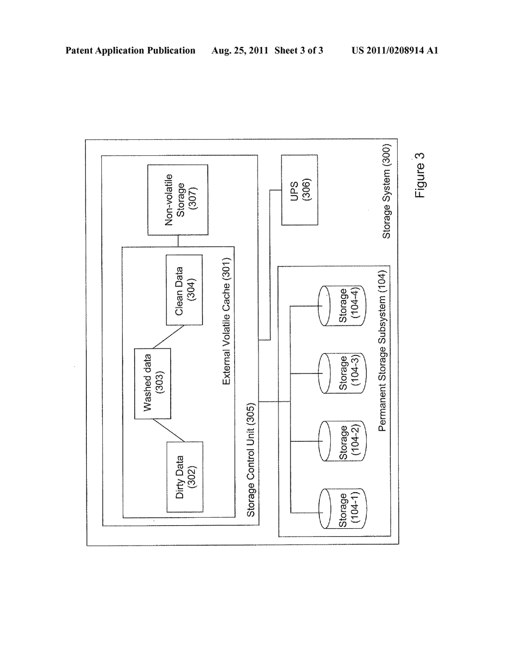 STORAGE SYSTEM AND METHOD OF OPERATING THEREOF - diagram, schematic, and image 04
