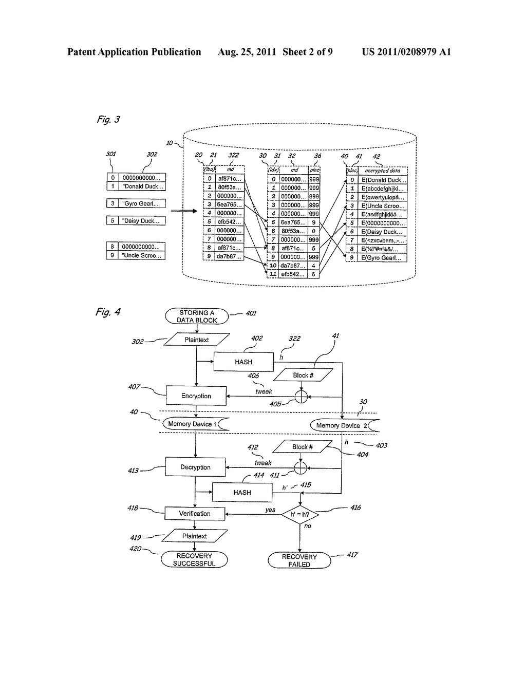 Method and Apparatus for Implementing Secure and Selectively Deniable File     Storage - diagram, schematic, and image 03