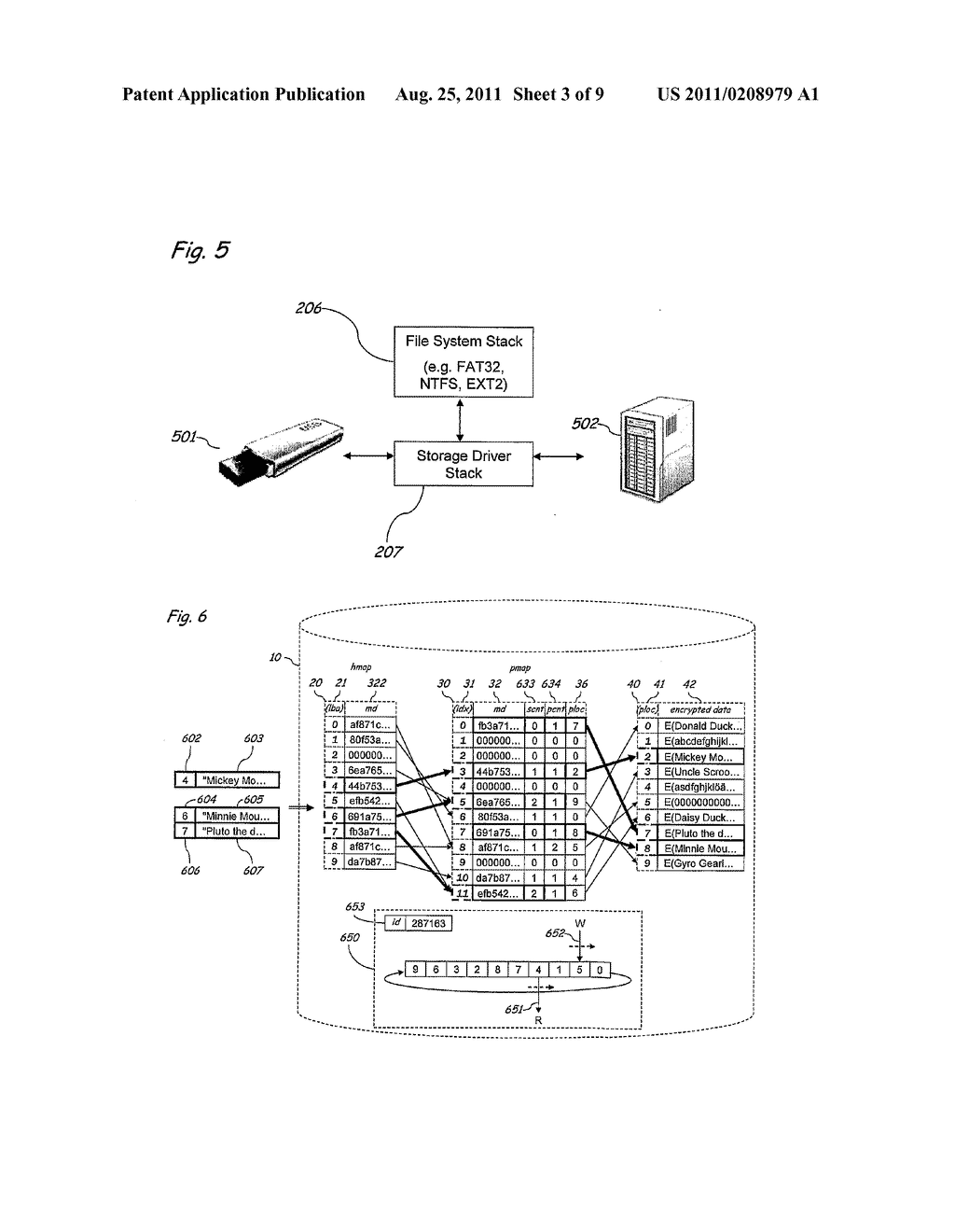 Method and Apparatus for Implementing Secure and Selectively Deniable File     Storage - diagram, schematic, and image 04