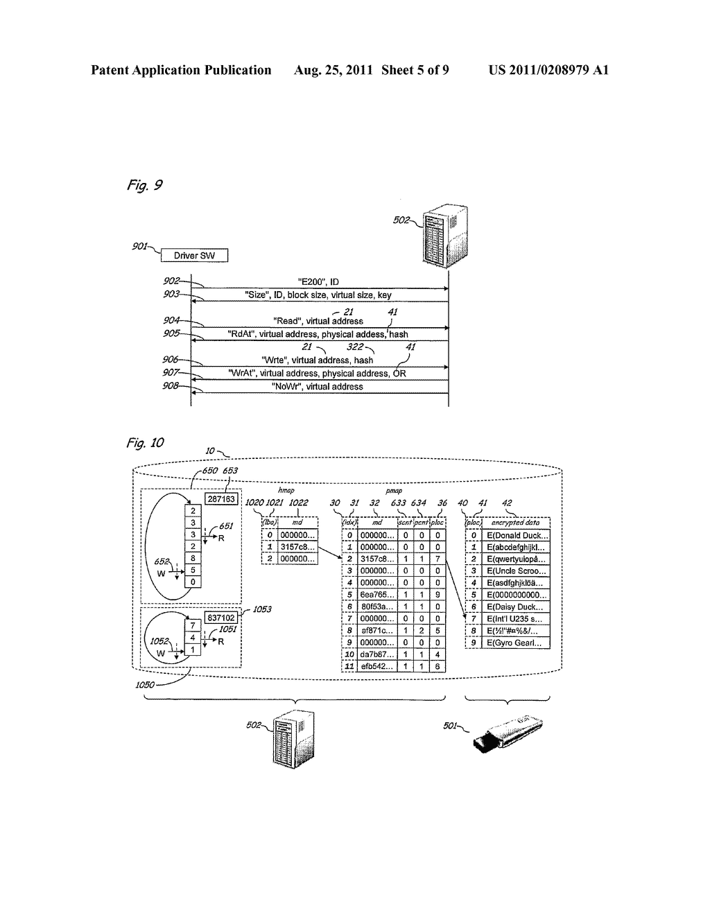 Method and Apparatus for Implementing Secure and Selectively Deniable File     Storage - diagram, schematic, and image 06