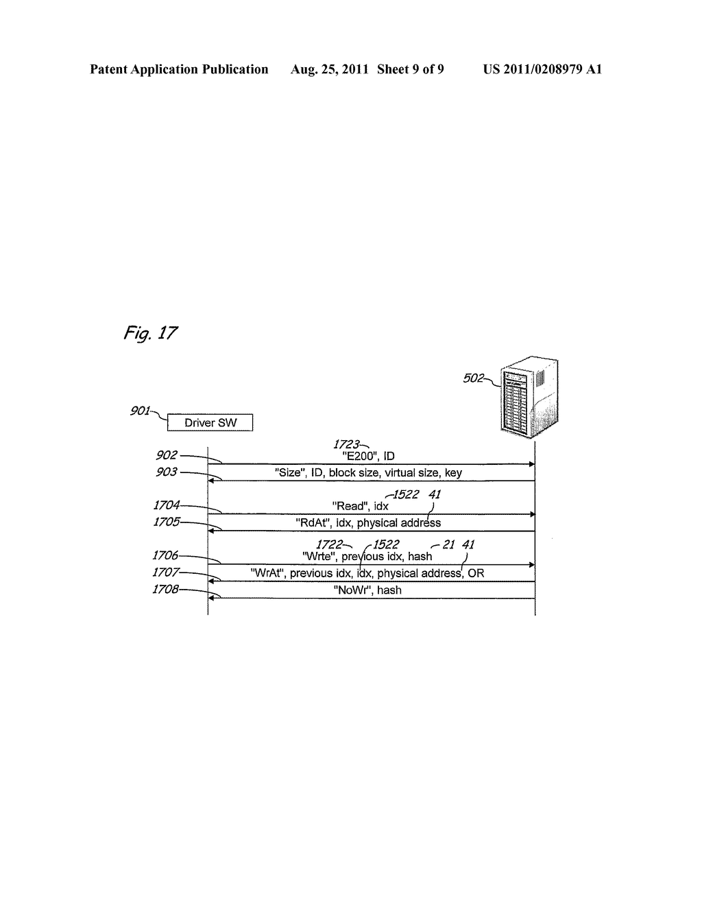Method and Apparatus for Implementing Secure and Selectively Deniable File     Storage - diagram, schematic, and image 10