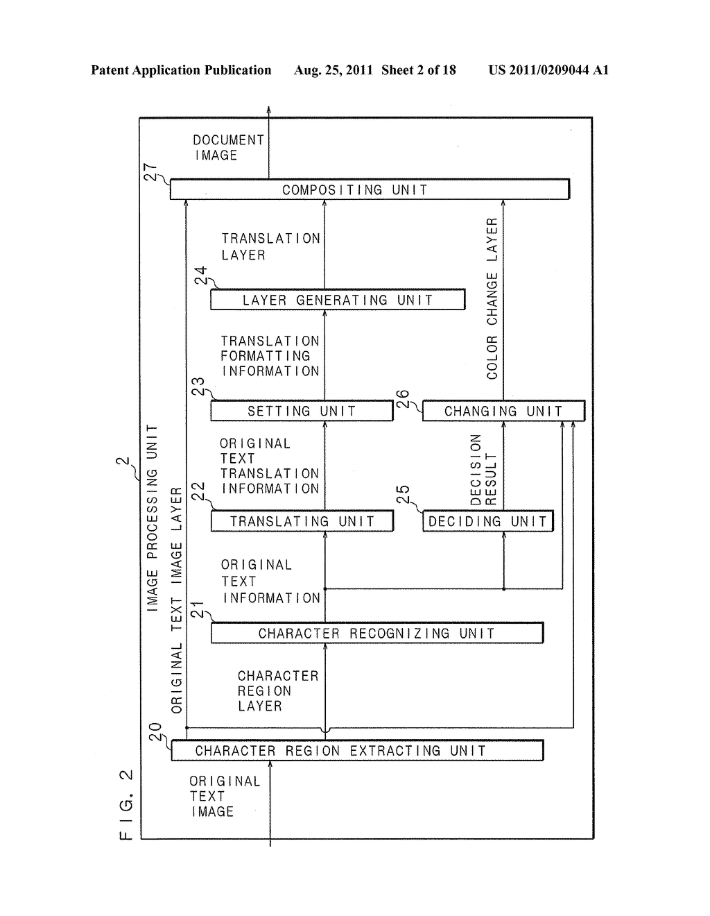 DOCUMENT IMAGE GENERATING APPARATUS, DOCUMENT IMAGE GENERATING METHOD AND     COMPUTER PROGRAM - diagram, schematic, and image 03