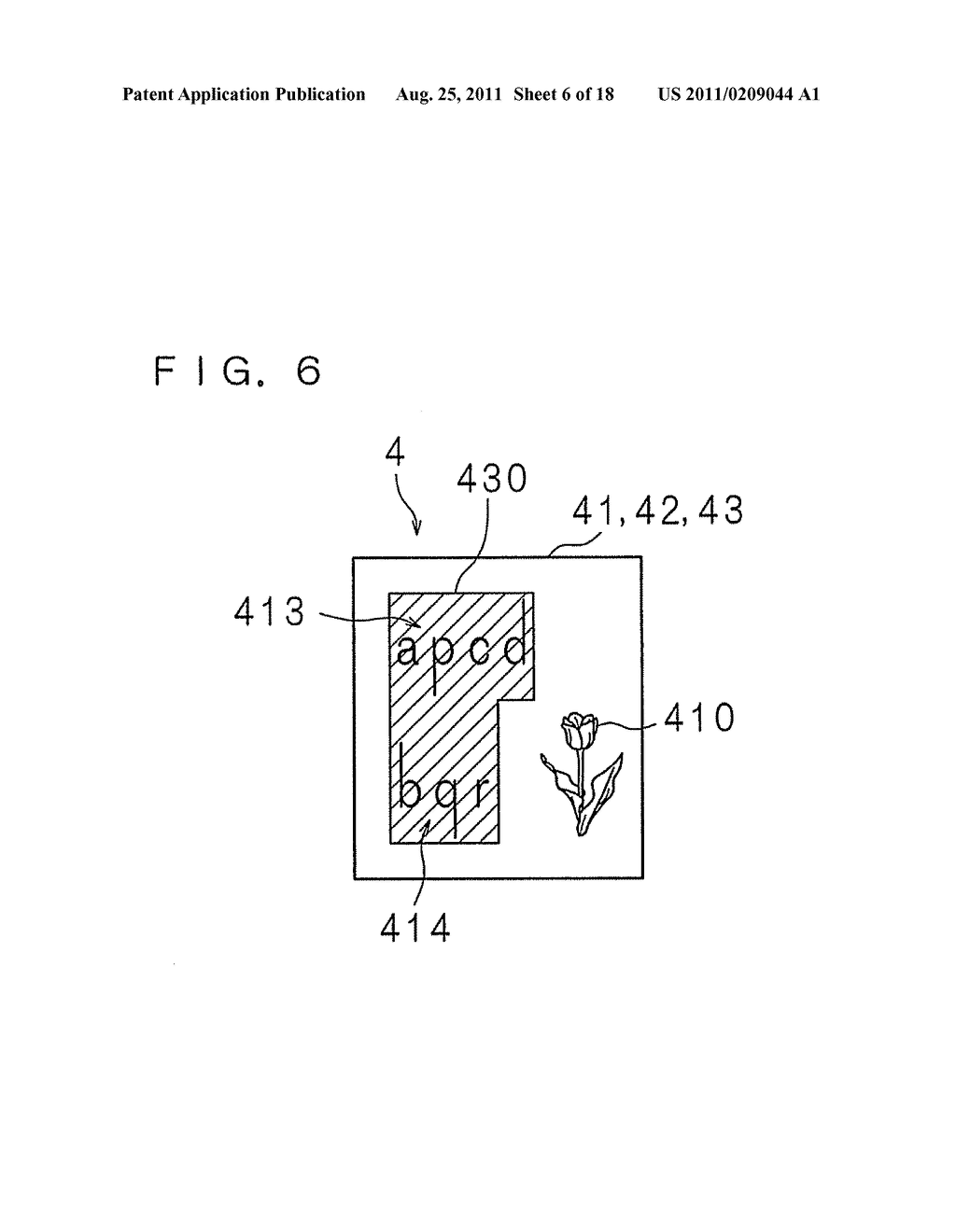 DOCUMENT IMAGE GENERATING APPARATUS, DOCUMENT IMAGE GENERATING METHOD AND     COMPUTER PROGRAM - diagram, schematic, and image 07
