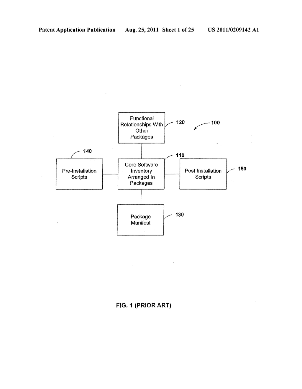 APPARATUS AND METHOD FOR MANAGING A PLURALITY OF SOFTWARE DEPENDENCY MAPS     AND SOFTWARE INSTALLATION USING THE SAME - diagram, schematic, and image 02