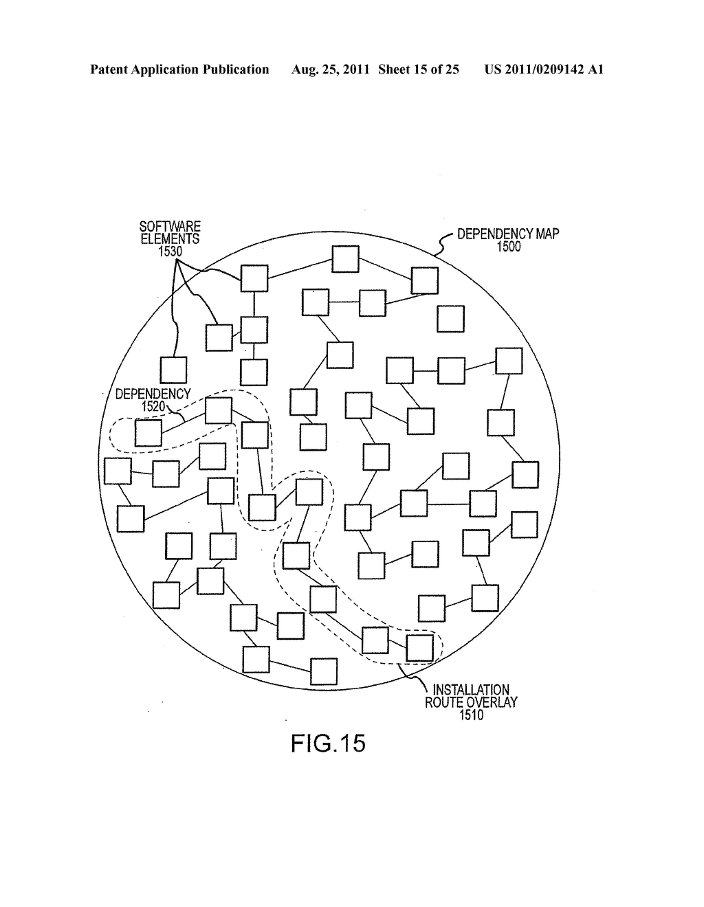 APPARATUS AND METHOD FOR MANAGING A PLURALITY OF SOFTWARE DEPENDENCY MAPS     AND SOFTWARE INSTALLATION USING THE SAME - diagram, schematic, and image 16