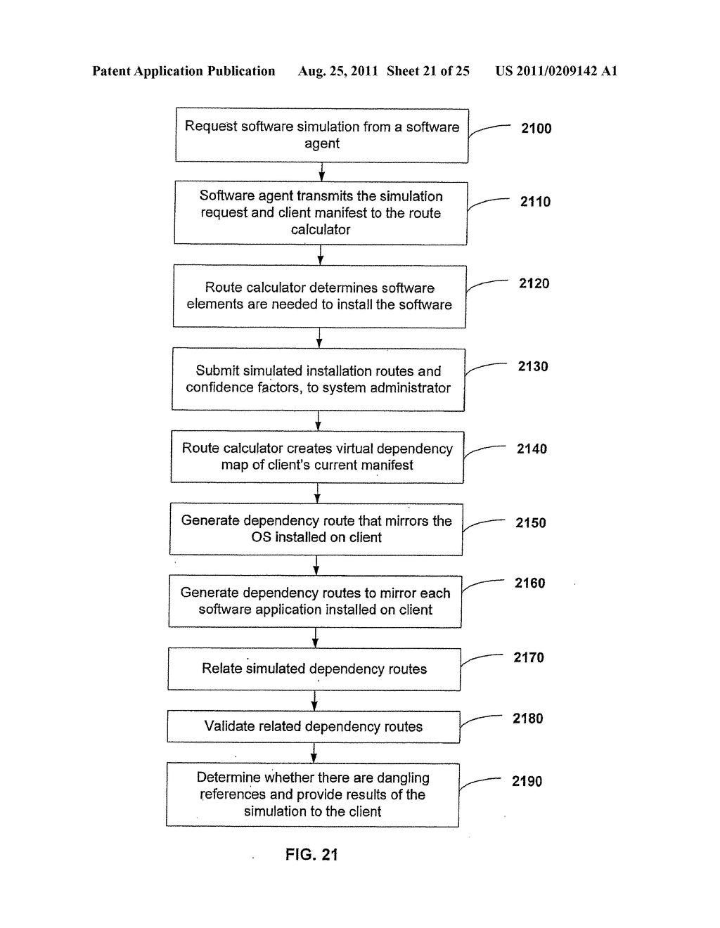 APPARATUS AND METHOD FOR MANAGING A PLURALITY OF SOFTWARE DEPENDENCY MAPS     AND SOFTWARE INSTALLATION USING THE SAME - diagram, schematic, and image 22