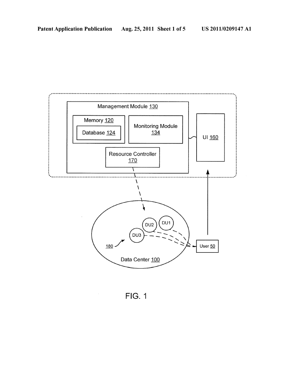 METHODS AND APPARATUS RELATED TO MANAGEMENT OF UNIT-BASED VIRTUAL     RESOURCES WITHIN A DATA CENTER ENVIRONMENT - diagram, schematic, and image 02