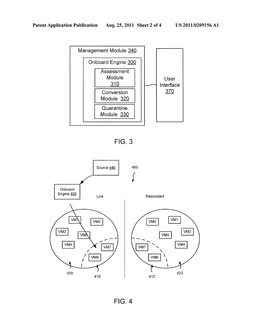 METHODS AND APPARATUS RELATED TO MIGRATION OF CUSTOMER RESOURCES TO     VIRTUAL RESOURCES WITHIN A DATA CENTER ENVIRONMENT - diagram, schematic, and image 03