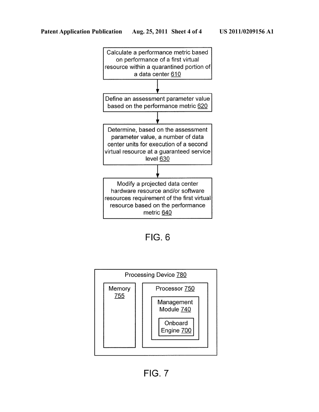 METHODS AND APPARATUS RELATED TO MIGRATION OF CUSTOMER RESOURCES TO     VIRTUAL RESOURCES WITHIN A DATA CENTER ENVIRONMENT - diagram, schematic, and image 05