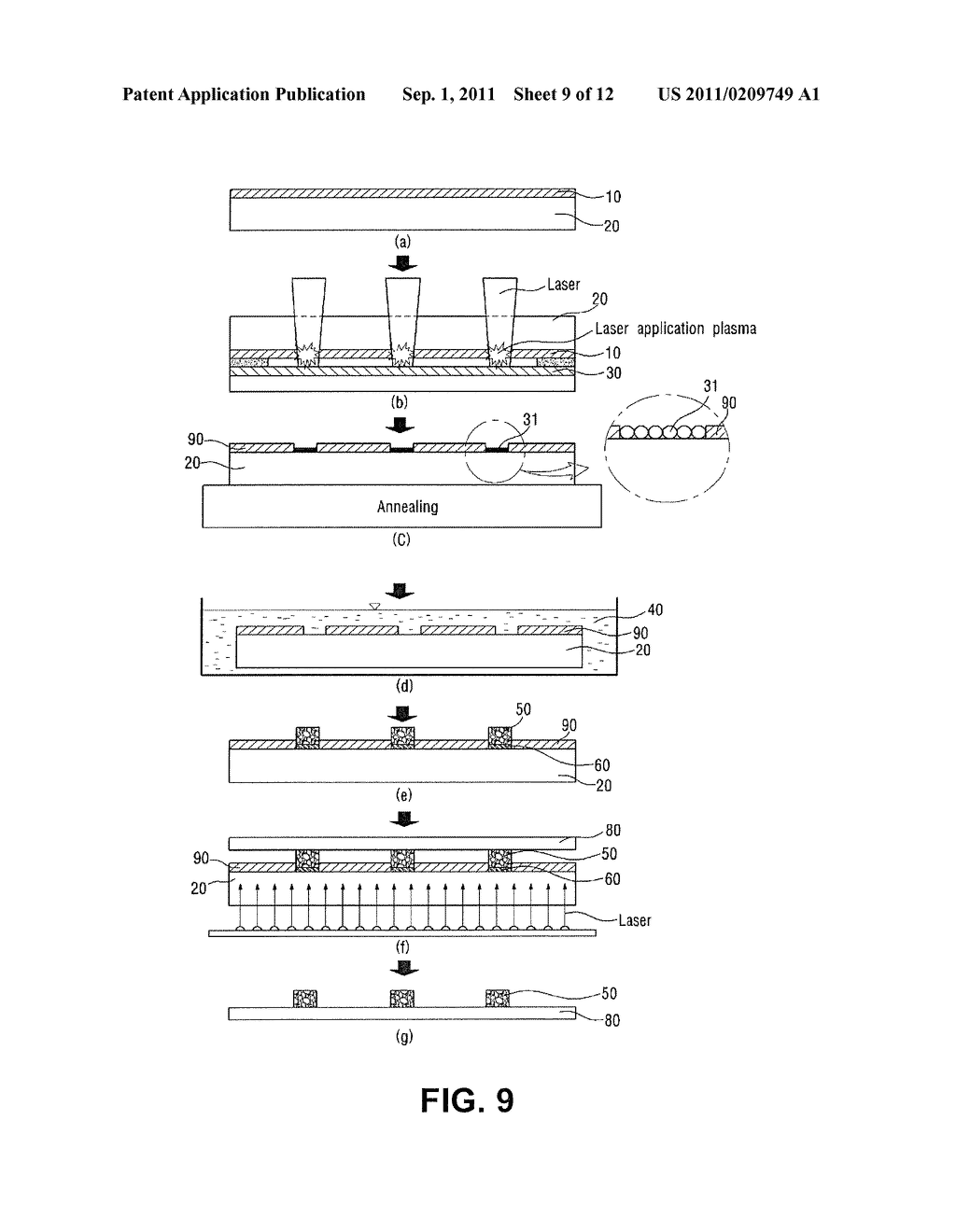 Pattern Transfer Method And Apparatus Flexible Display Panel Solar Cell Circuit Electronic Book Thin Film Transistor Electromagnetic Shielding Sheet