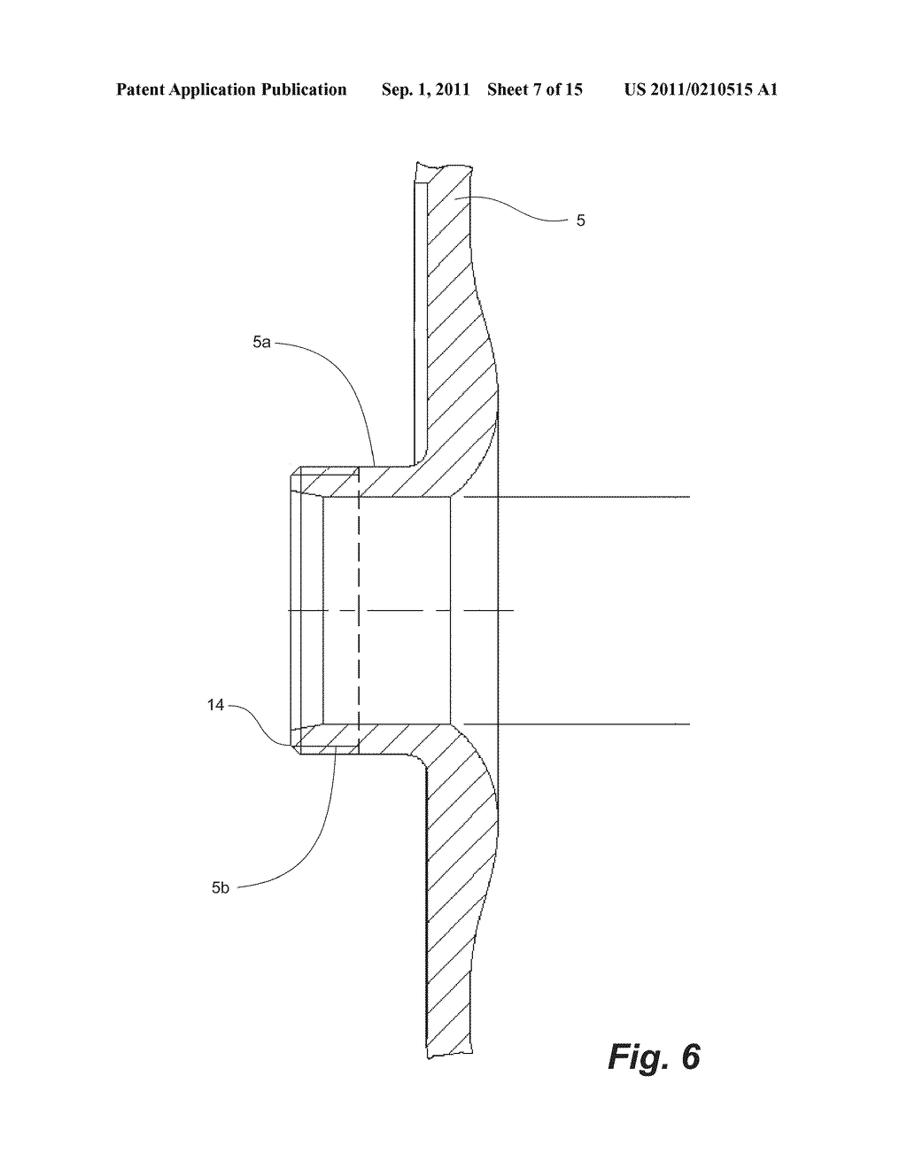 SEALING SYSTEM FOR THE OUTLET OF A PLASTIC-LINED COMPRESSED GAS CYLINDER - diagram, schematic, and image 08
