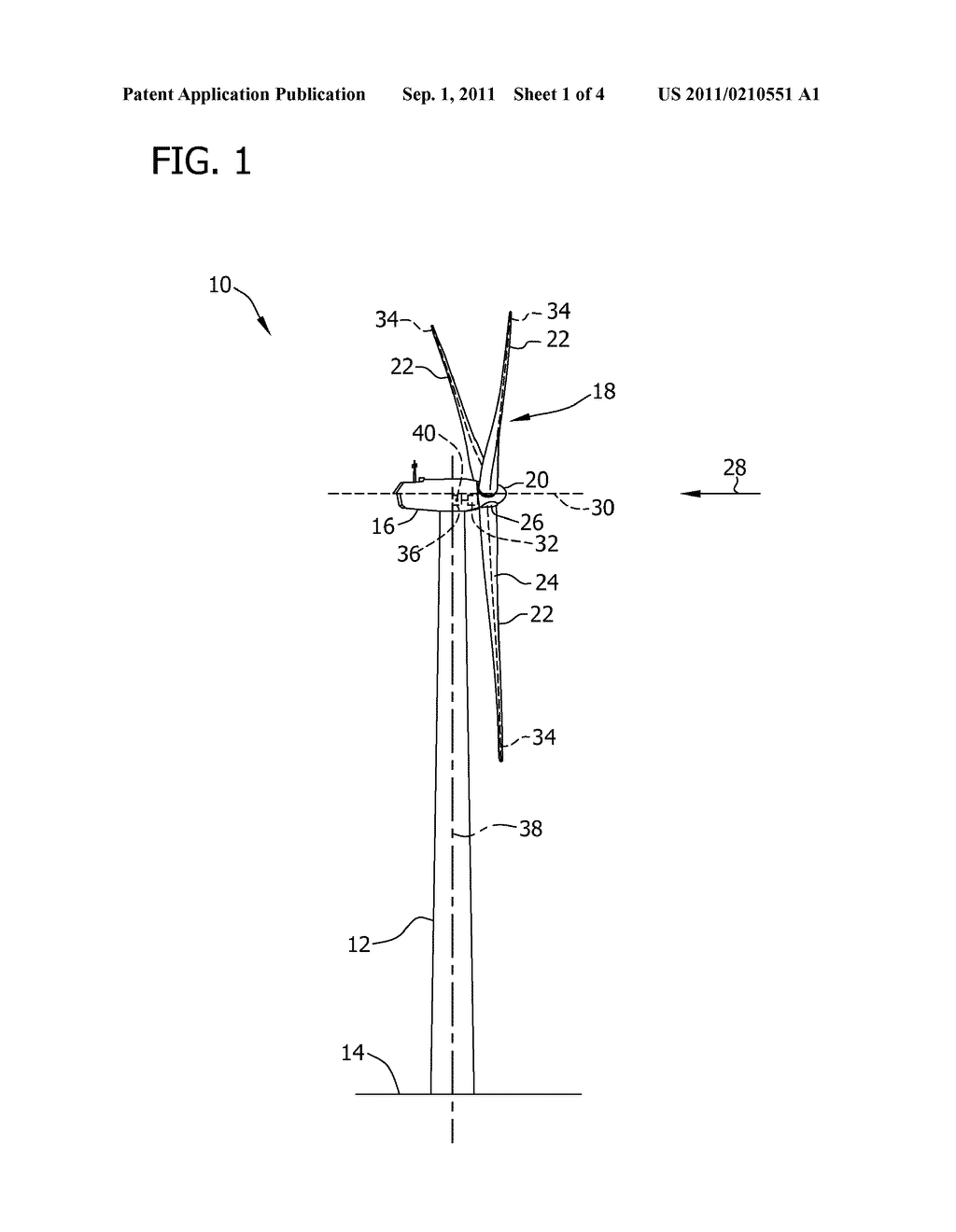 METHOD AND SYSTEM FOR TESTING A MECHANICAL BRAKE OF A WIND ROTOR SHAFT OF     A WIND TURBINE - diagram, schematic, and image 02