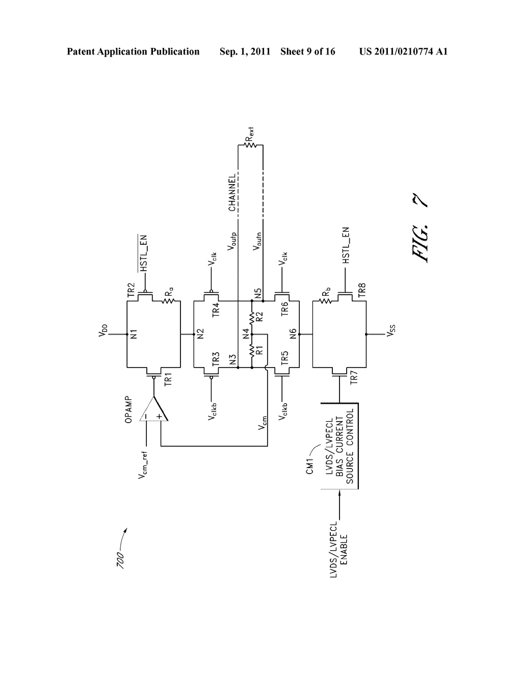 APPARATUS AND METHOD FOR PROVIDING MULTI-MODE CLOCK SIGNALS - diagram, schematic, and image 10
