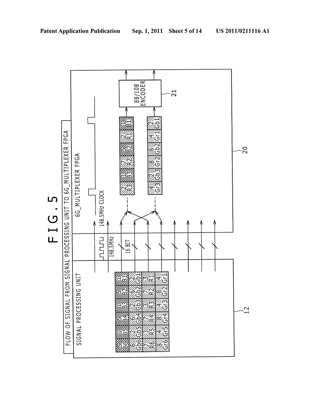 SIGNAL TRANSMITTING DEVICE AND SIGNAL TRANSMITTING METHOD - diagram, schematic, and image 06