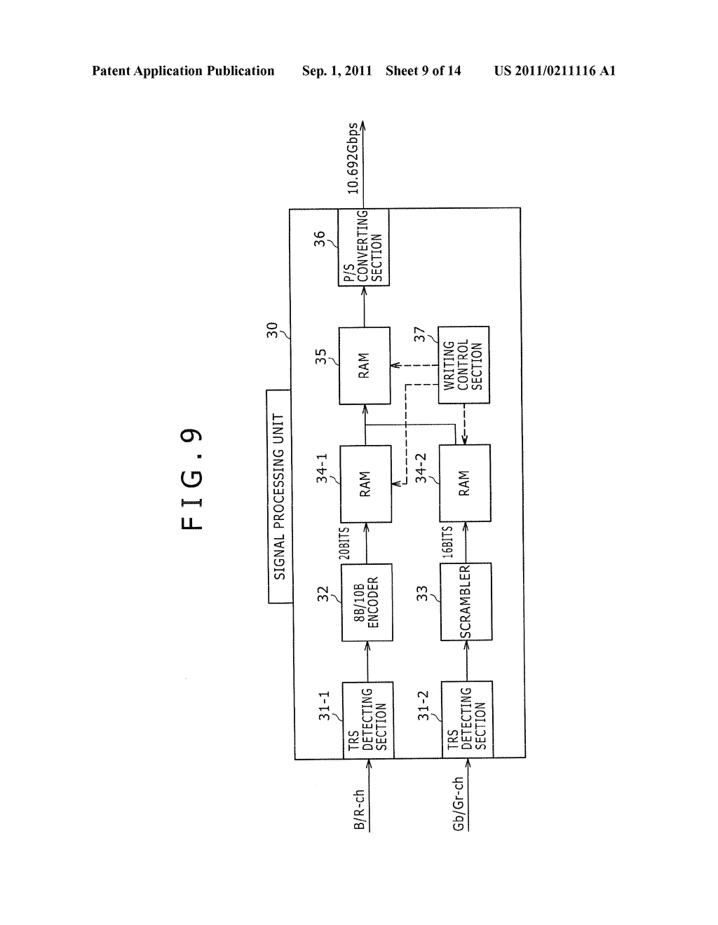 SIGNAL TRANSMITTING DEVICE AND SIGNAL TRANSMITTING METHOD - diagram, schematic, and image 10
