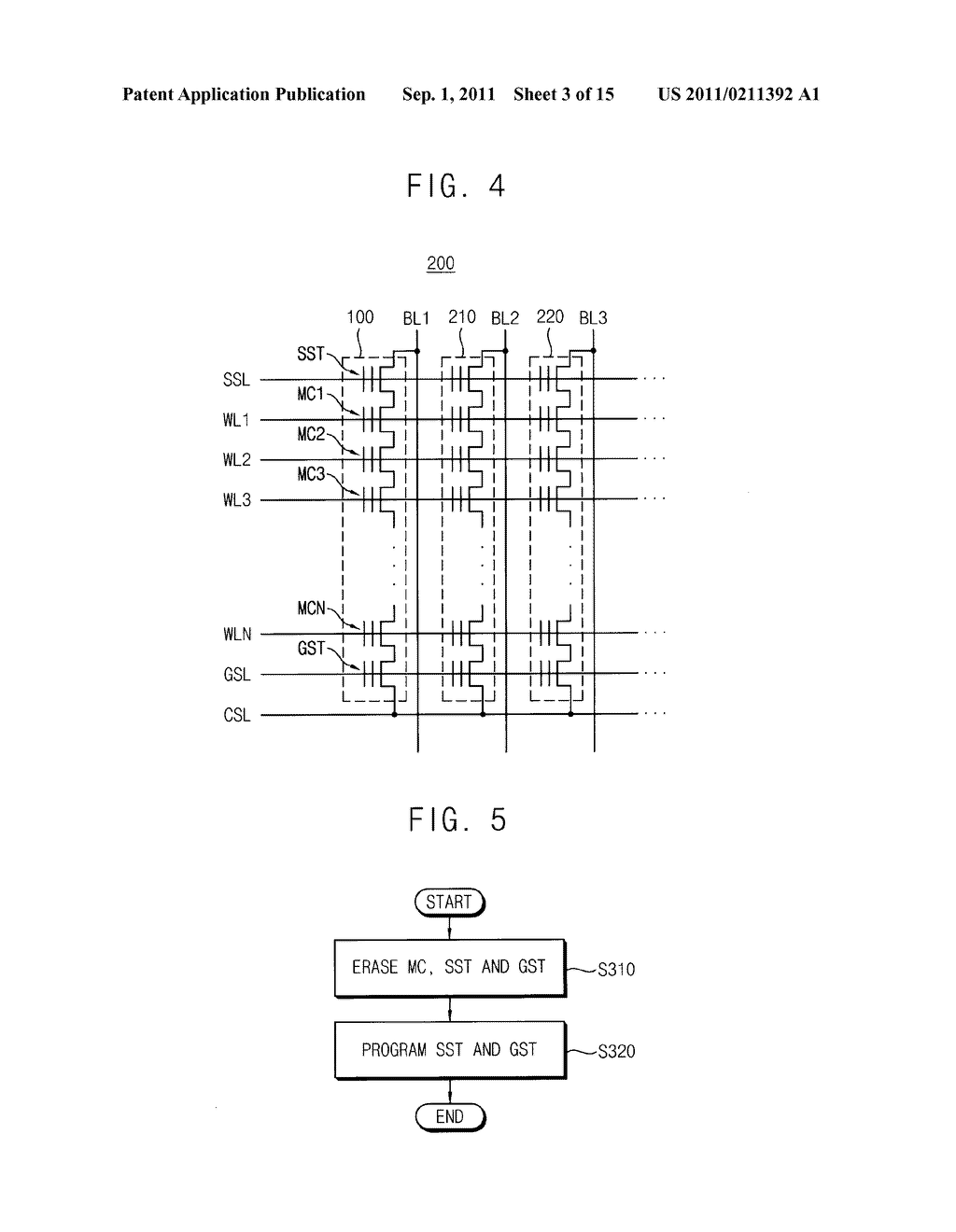 CELL STRING OF A MEMORY CELL ARRAY AND METHOD OF ERASING THE SAME - diagram, schematic, and image 04