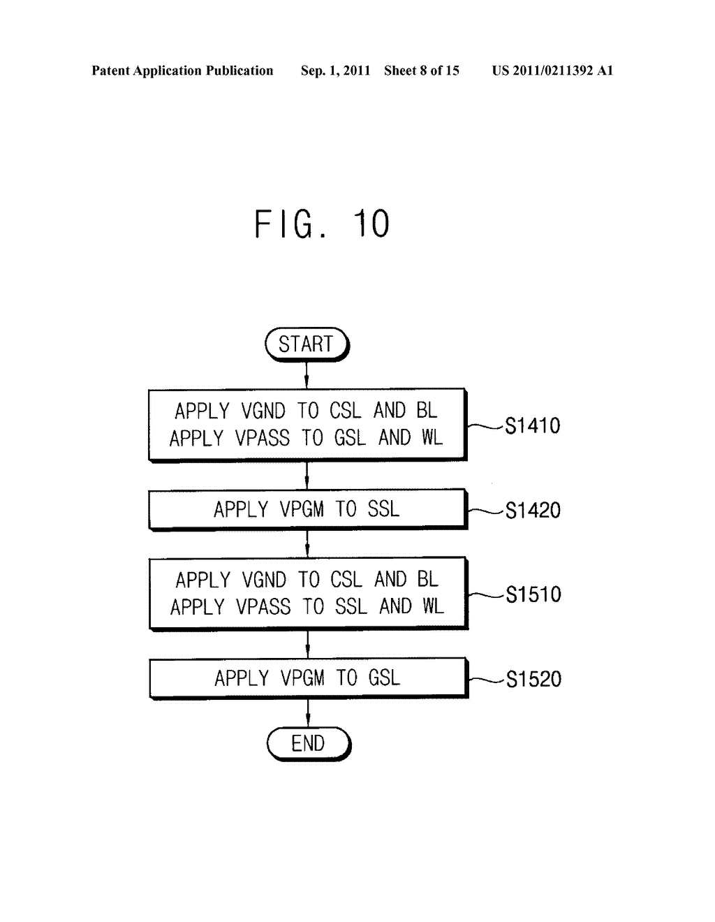 CELL STRING OF A MEMORY CELL ARRAY AND METHOD OF ERASING THE SAME - diagram, schematic, and image 09