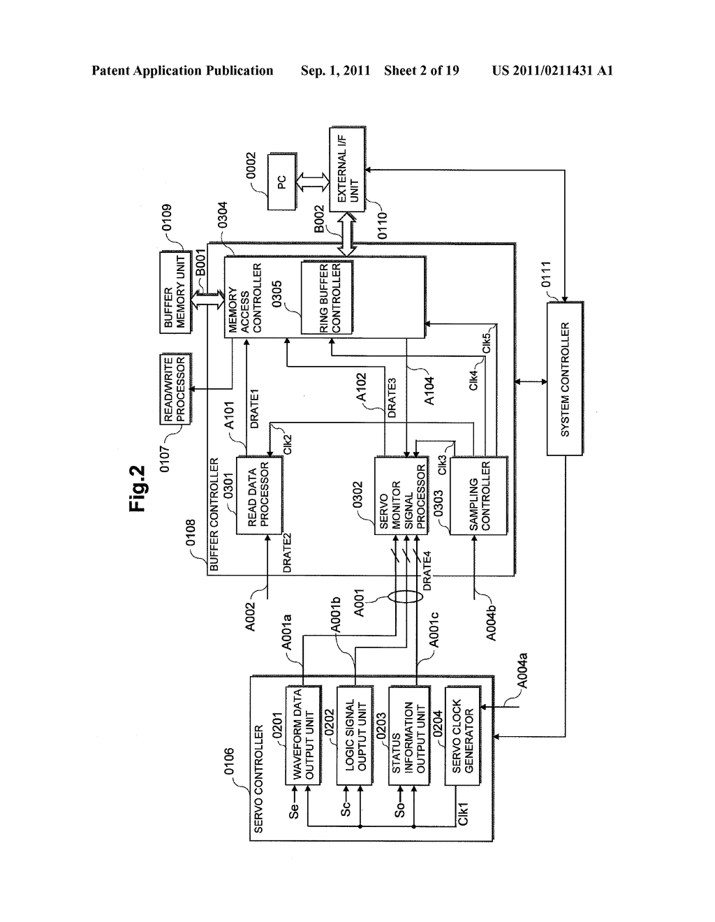 SEMICONDUCTOR INTEGRATED CIRCUIT AND DISK RECORDING AND REPRODUCING DRIVE     USING THE SAME - diagram, schematic, and image 03