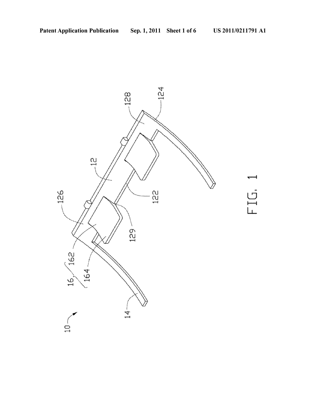 OPTICAL FIBER FIXING DEVICE AND METHOD FOR ASSEMBLING OPTICAL FIBER TO     OPTICAL CONNECTOR USING SAME - diagram, schematic, and image 02